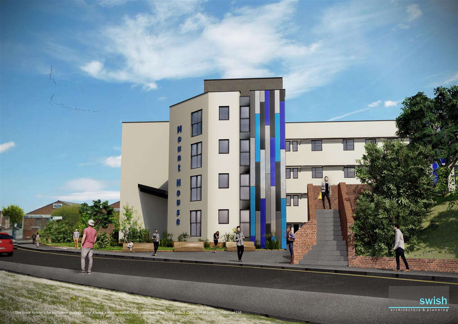 1 Bedroom Apartment Flat for sale in Cambridge House, Nottingham Road, Stapleford